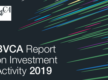 2019 Report on Private Equity and Venture Activities in the United Kingdom: £ 22.3 billion invested