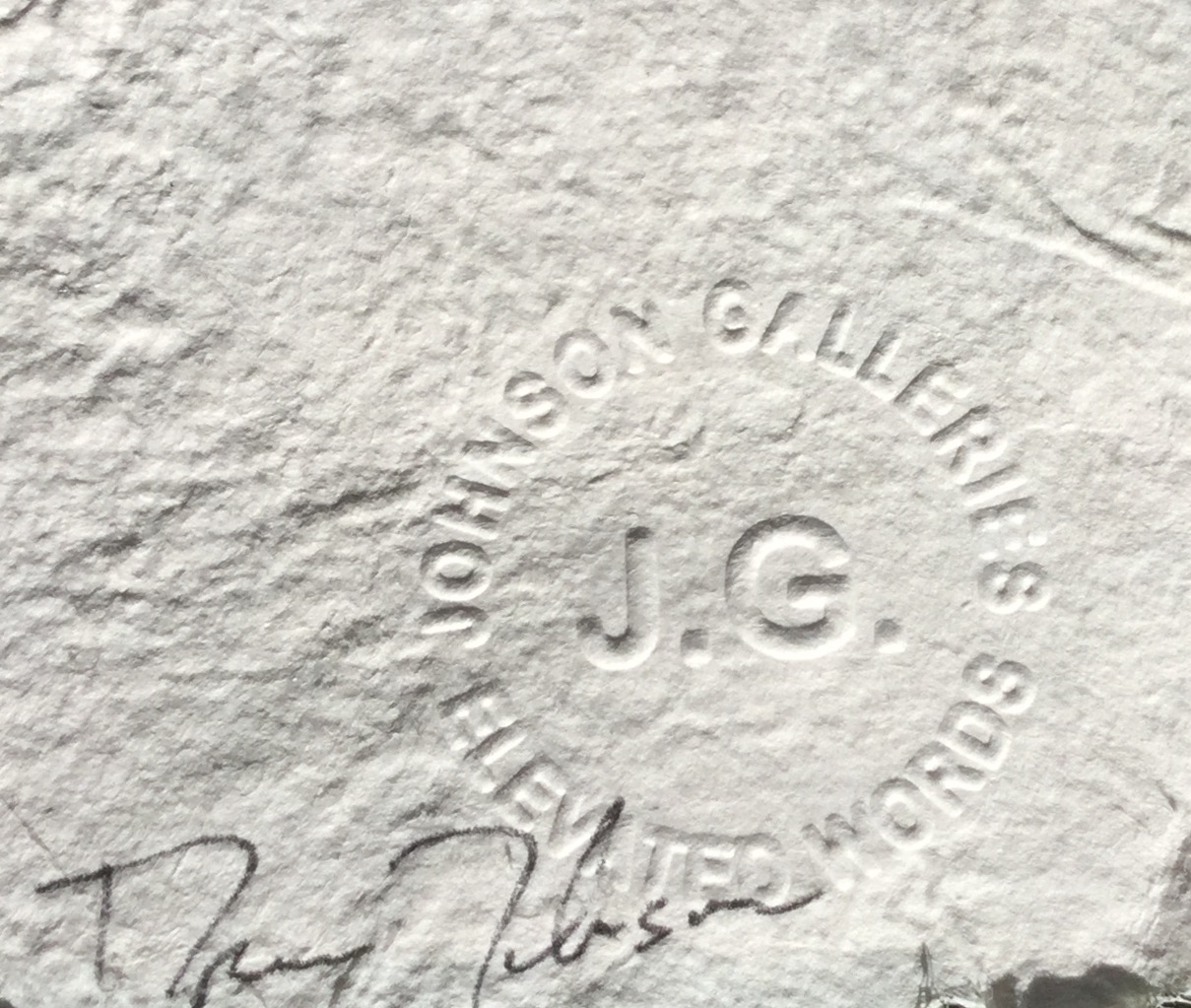 Johnson Seal and Signature