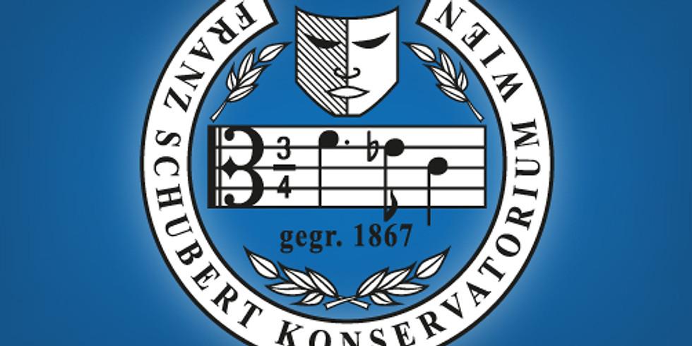 Jahreskonzert des Franz Schubert Konservatoriums