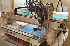 Cnc routered signs