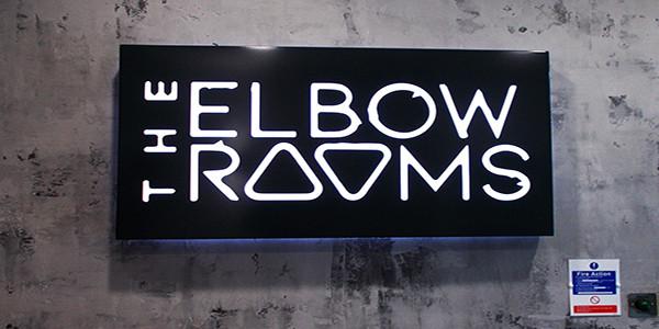 Illuminated tray sign