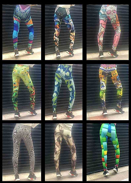 leggings, custom wholesale thailand, sil