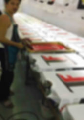 custom printing thailand silk screen dis