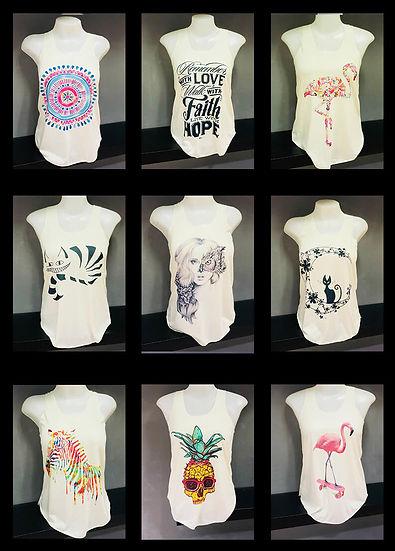 singlets 2 tshirts wholesale thailand ex