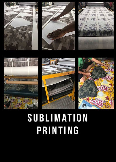 thai tshirt factory, sublimation printin