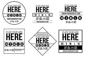 labels sizes bangkok wholesale thailand