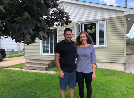 Stephanie and Mitchell win record prize in SAH 50/50