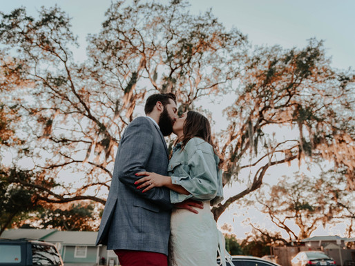KATIE + CALLUM (TAMPA, FLORIDA, USA) - travel wedding