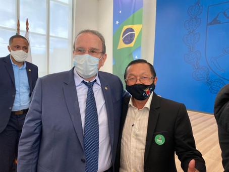 Deputado Jonas Guimarães se reúne com prefeitos da Amenorte