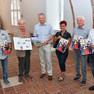 Rostock's Kleingärtner sagen Danke dem Verleger-Duo Dr. Matthias Redieck und Achim Schade