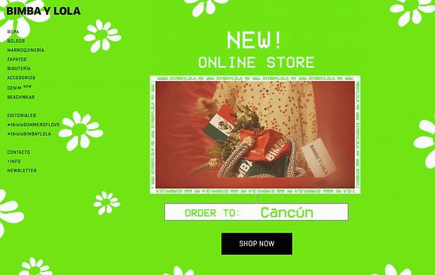 af44d97896db Bimba y Lola lanza tienda online en México y abrirá nuevas boutiques