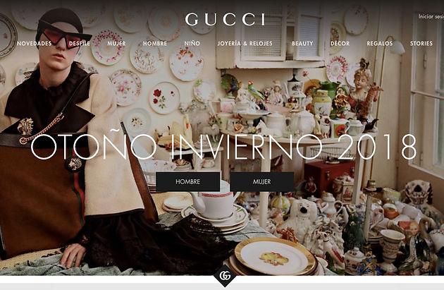 c7559c2b6b061 Gucci prepara el lanzamiento de su tienda online en México ...