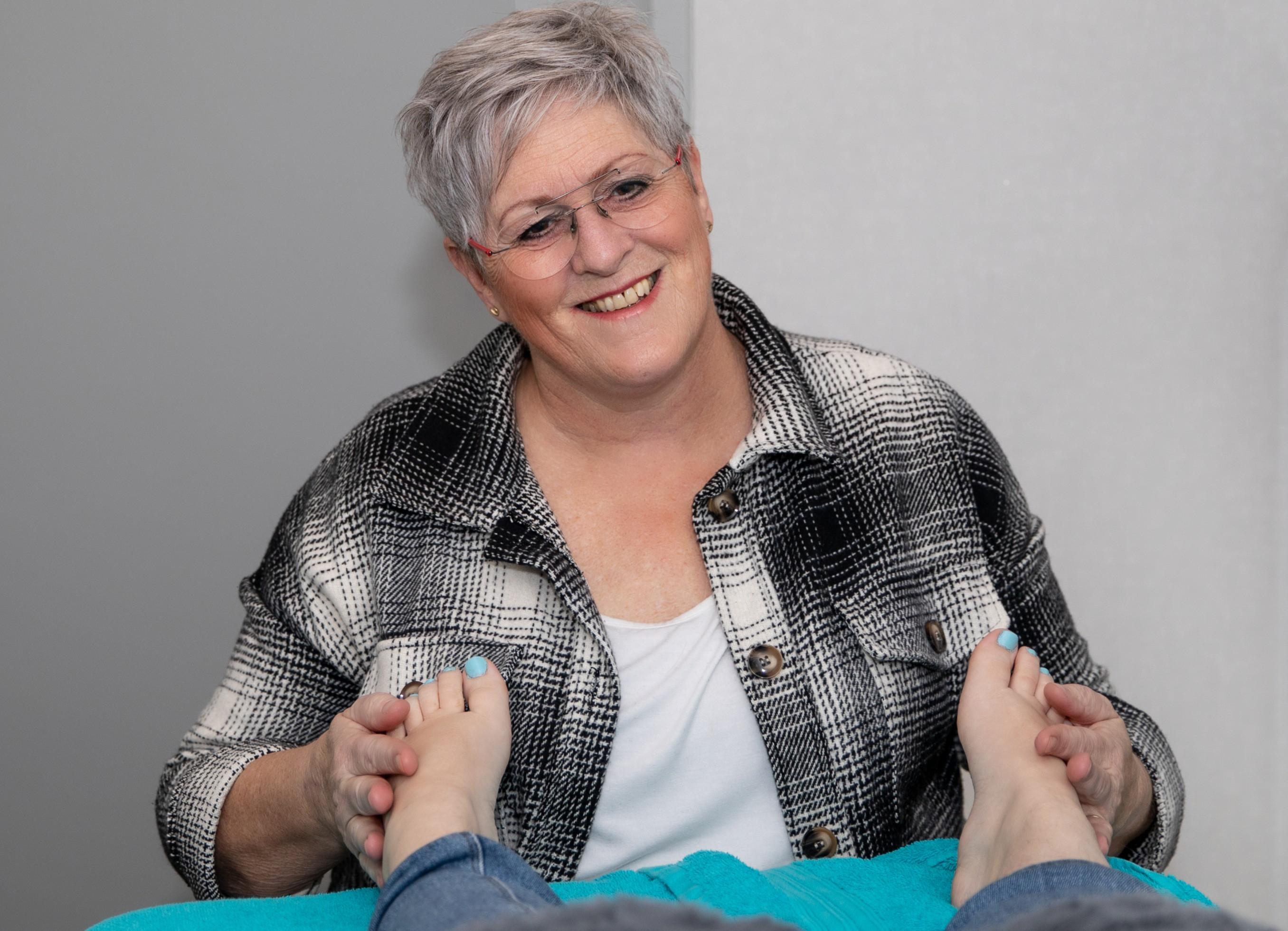 Combi voetreflex + atlasmassage