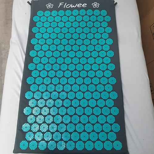 Flowee spijkermat zwart/groen