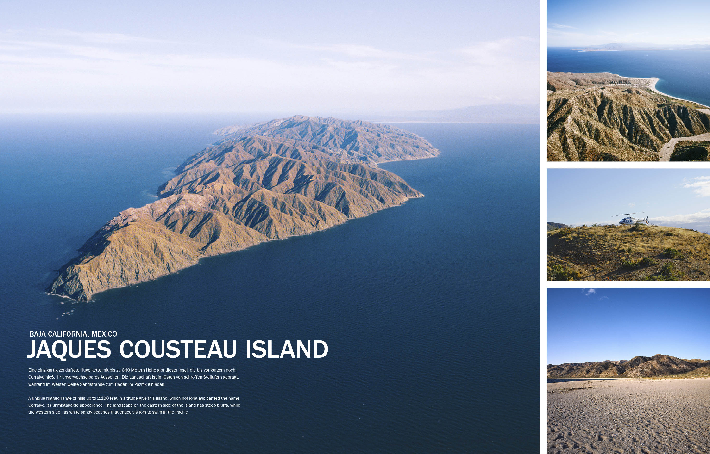 jaques cousteau island