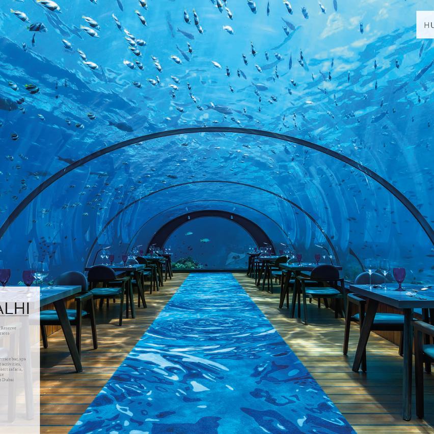 5.8 Undersea Restaurant at Hurawalhi