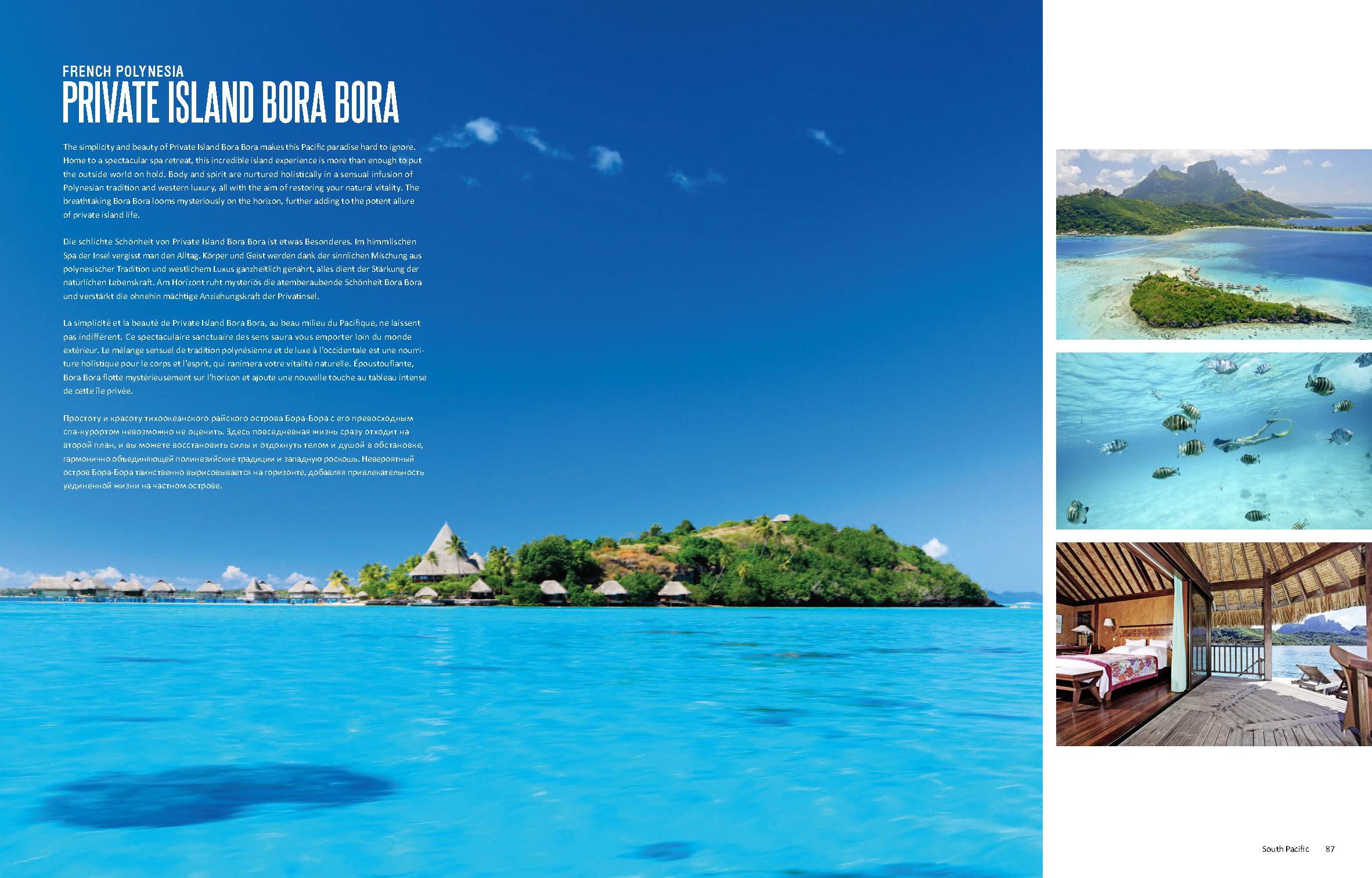 French Polynesia Private Island Bora