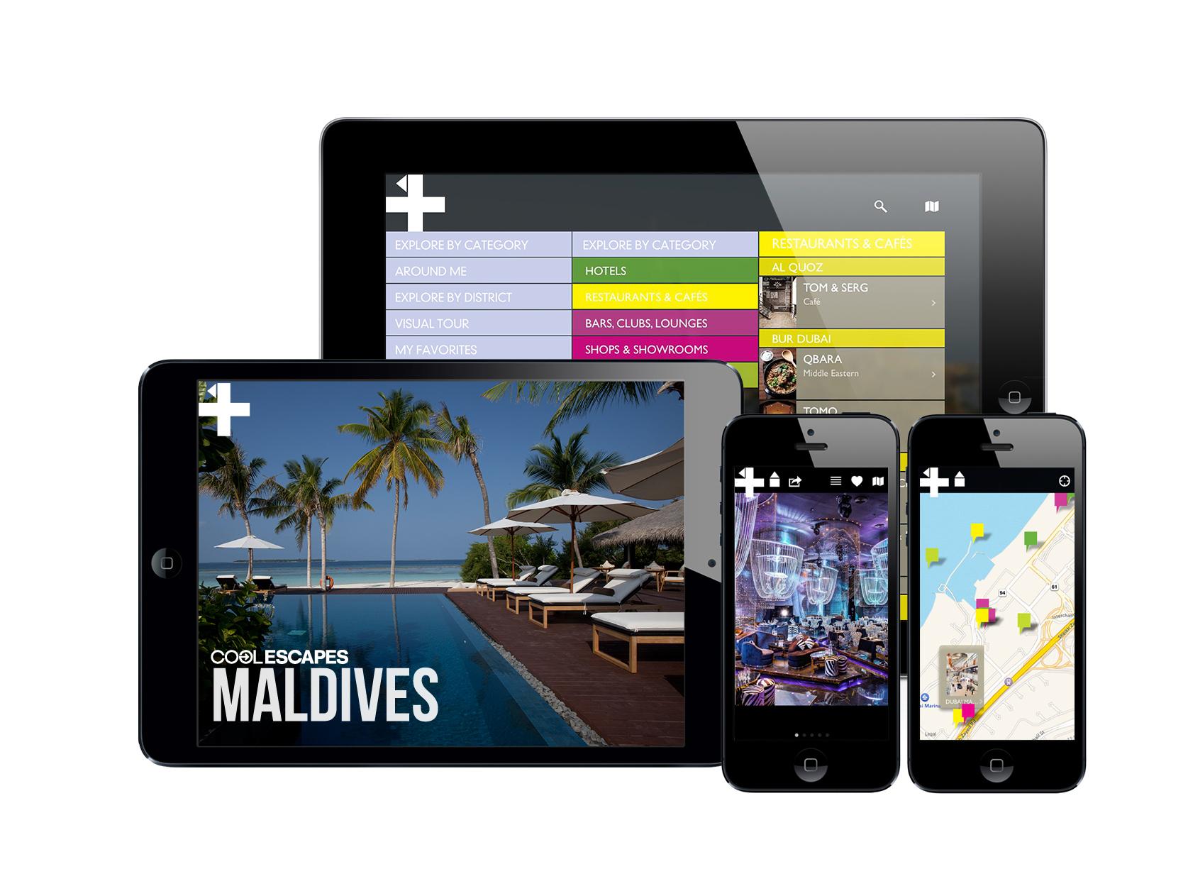 COOL ESCAPES MALDIVES APP