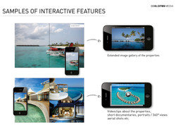 SAMPLES OF INTERACTIVE FEATURES