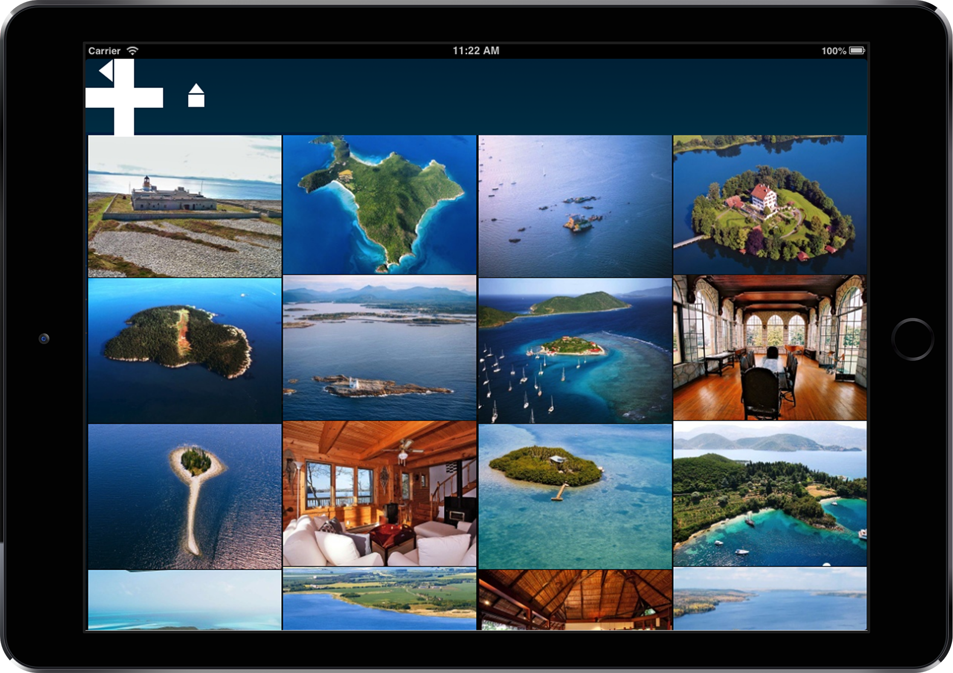 Gallery Private Islands App