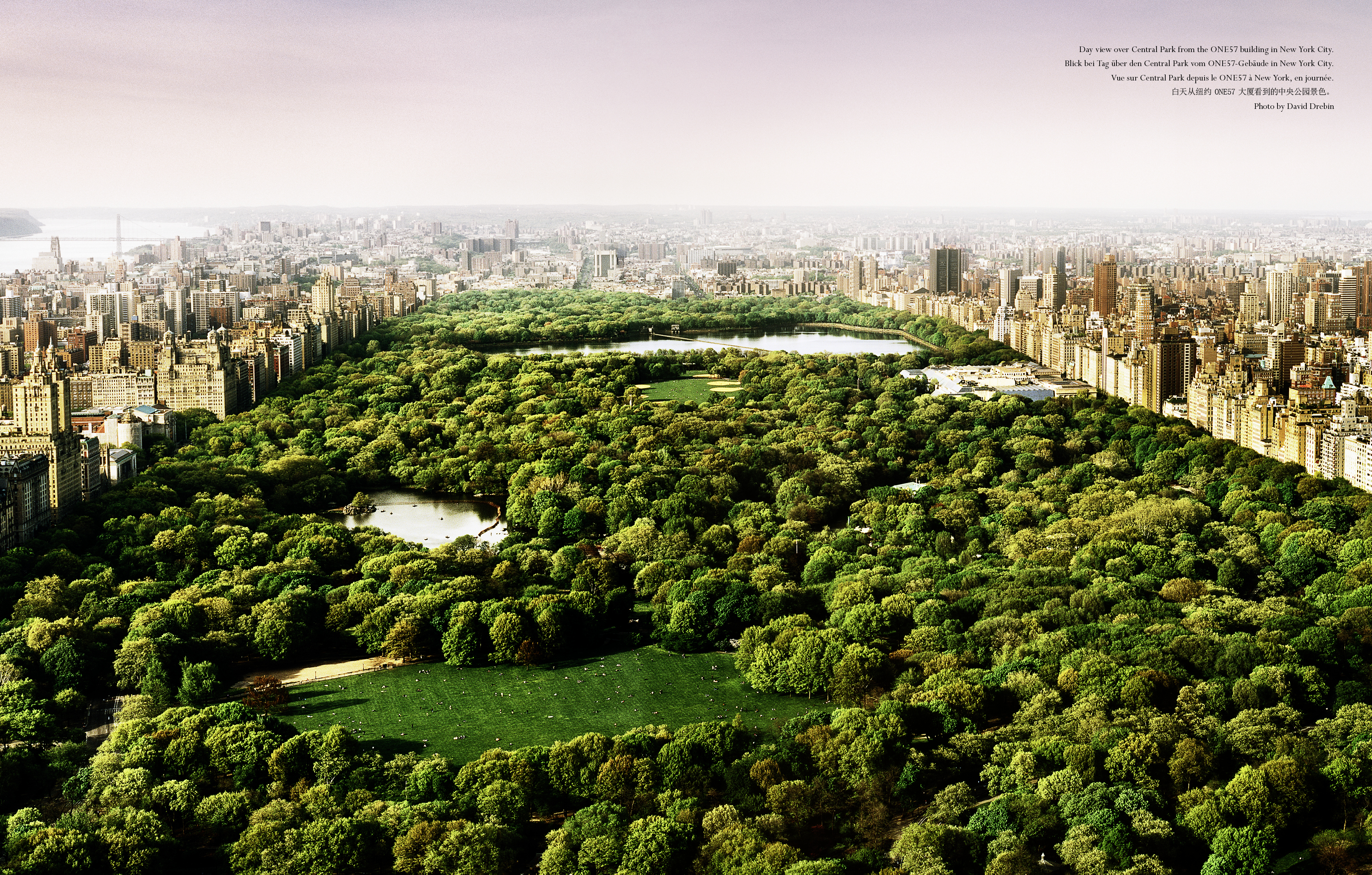 Day view over Central Park