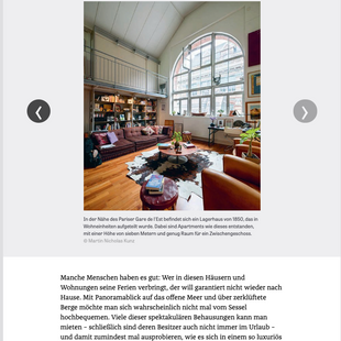 ZEIT Magazin - Book review