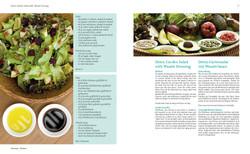 Detox Garden Salad with Wasabi Dress