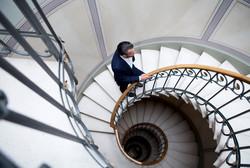 René Allemann stairway