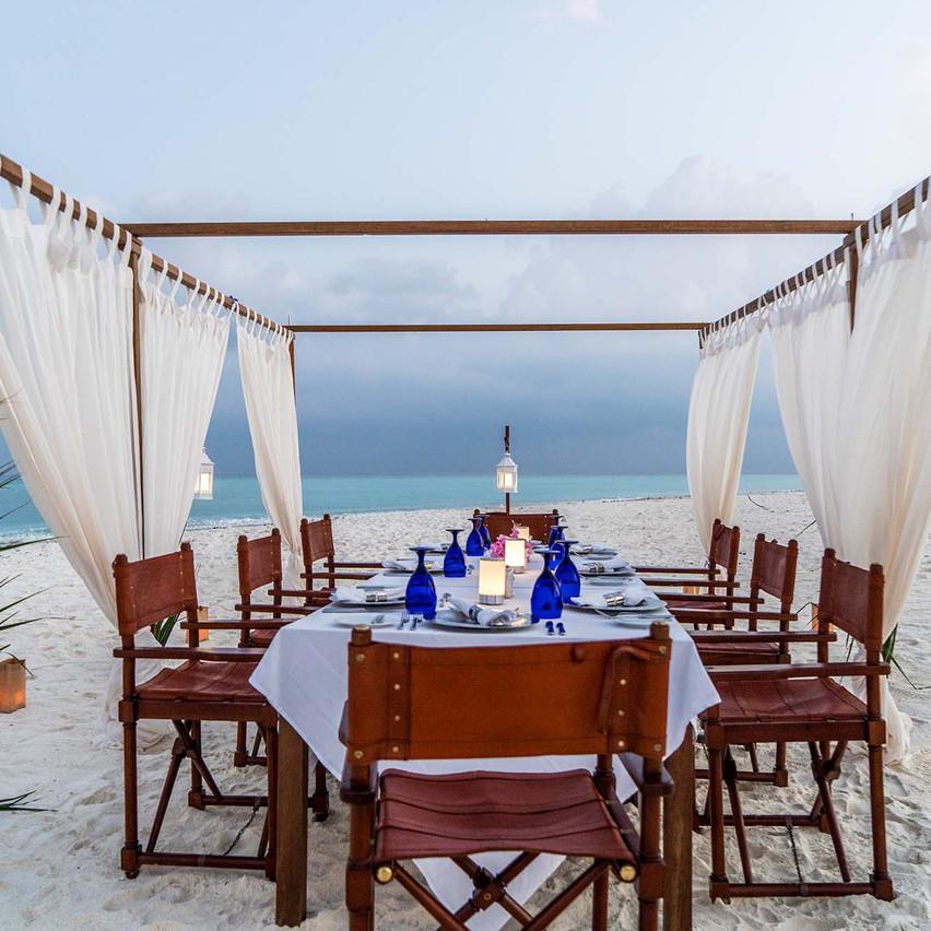 Sandbank Dinner