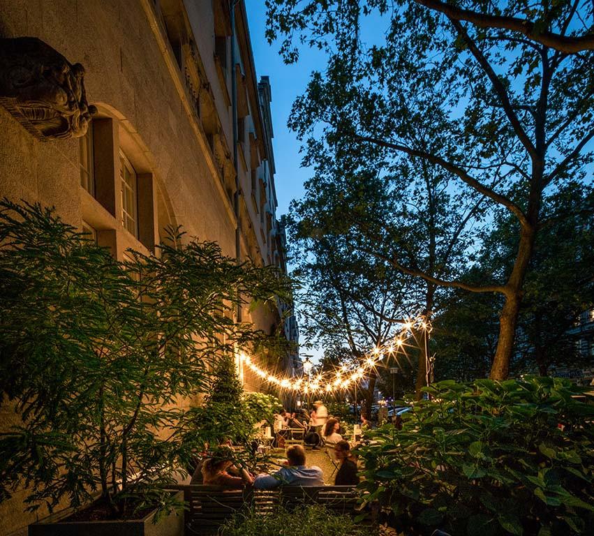Hotel Oderberger Bar Terrasse