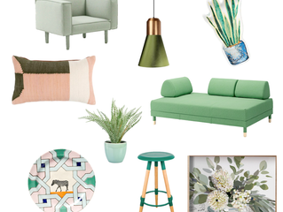 March colour of the month: Green