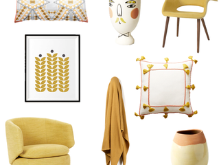 February Colour Of The Month - Mustard