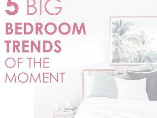5 Big bedroom trends of the moment