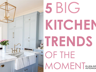 5 Big Kitchen Trends Of The Moment