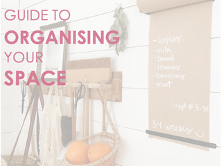 A Quick-Tip Guide To Organising Your Space