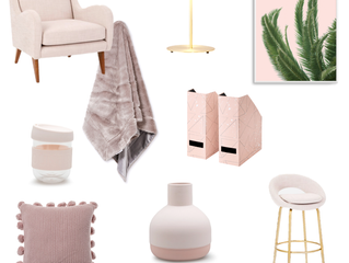 May colour of the month - Blush