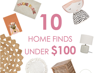 10 Home Finds Under $100