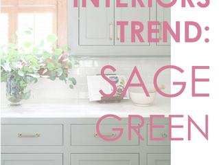 Interiors Trend: Sage Green