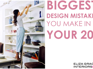 Biggest design mistakes you make in your 20s