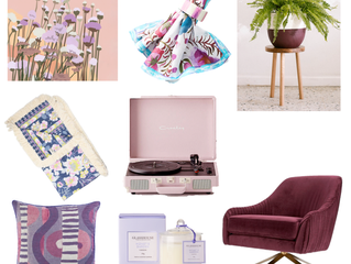 January colour of the month: Purple