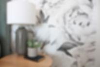 Interior Design Wallpaper Lamp