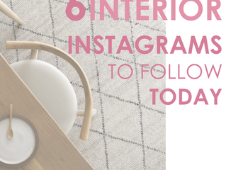 6 Interior Instagrams to follow today!