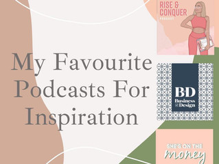 My Favourite Podcasts For Inspiration