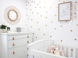 Interior Design - Baby Girl Nursery