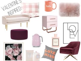 Valentine's Inspired Moodboard