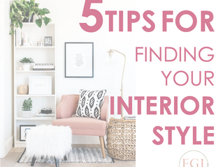 5 Tips For Finding Your Interior Style