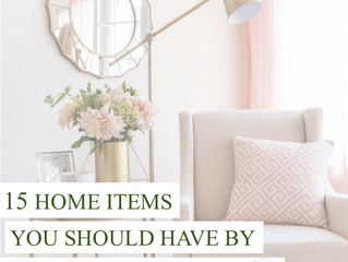 15 Home items you should have by your mid-twenties