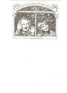 Christmas card 1984