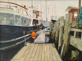 Wayfarer Docks, Camden, Oil