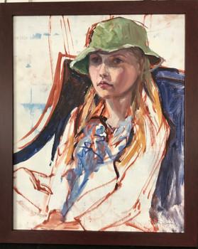 Haley, Oil on Canvas